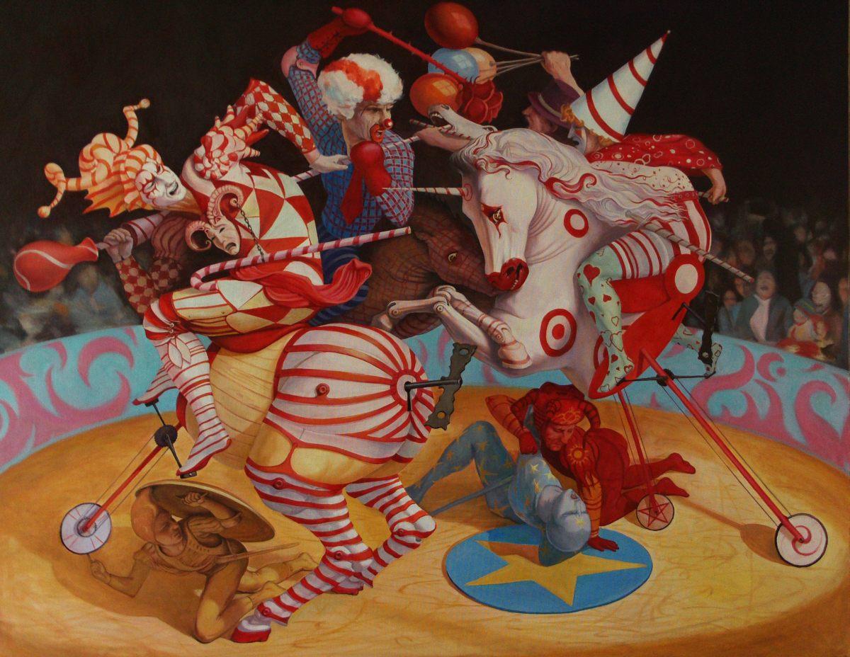 Adrian Borda Unforgettable Painting Art People Gallery
